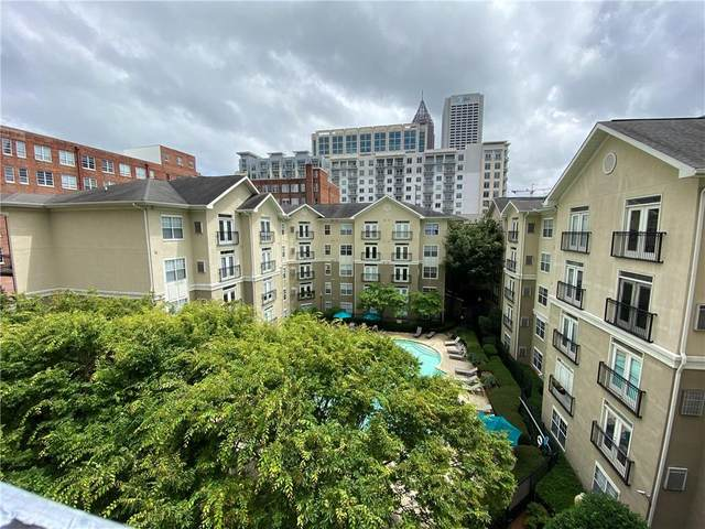 800 Peachtree Street NE #1513, Atlanta, GA 30308 (MLS #6736200) :: The Zac Team @ RE/MAX Metro Atlanta