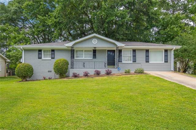 1921 Heathridge Court SE, Smyrna, GA 30080 (MLS #6736374) :: The Heyl Group at Keller Williams