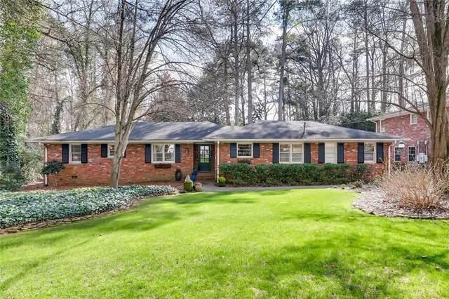 388 Cochran Drive NW, Atlanta, GA 30327 (MLS #6736445) :: The Heyl Group at Keller Williams