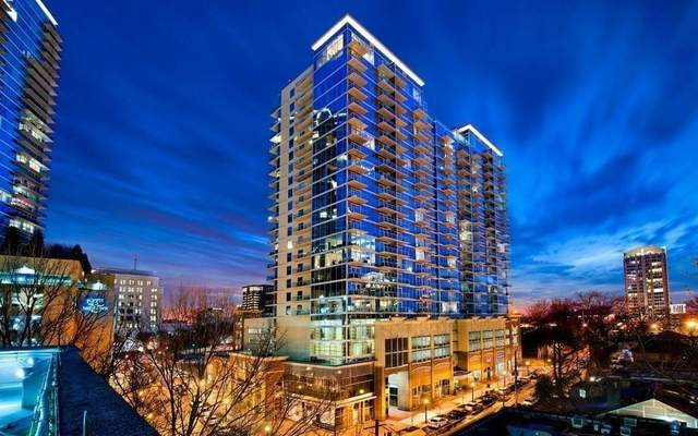 943 Peachtree Street Street NE #1201, Atlanta, GA 30309 (MLS #6736729) :: The Zac Team @ RE/MAX Metro Atlanta