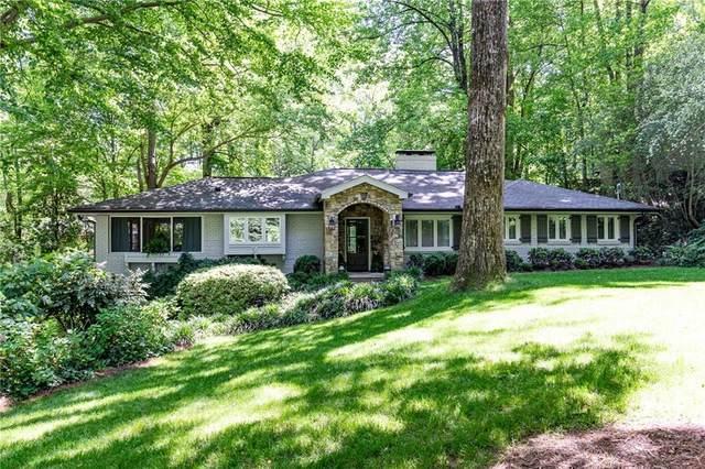3957 Lake Forrest Drive NE, Atlanta, GA 30342 (MLS #6737103) :: Dillard and Company Realty Group