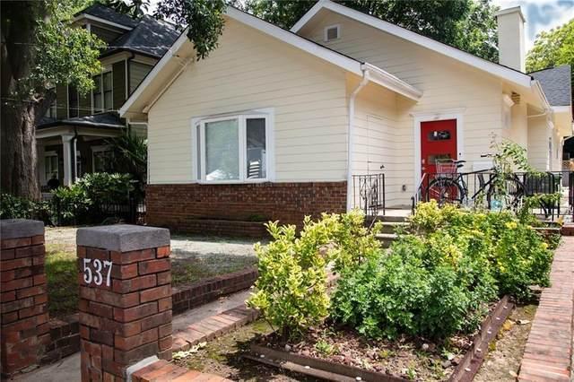 537 East Avenue NE, Atlanta, GA 30312 (MLS #6737980) :: RE/MAX Paramount Properties