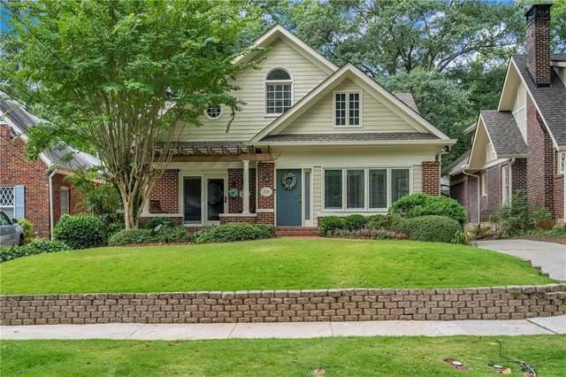 725 Brookridge Drive NE, Atlanta, GA 30306 (MLS #6742379) :: Dillard and Company Realty Group