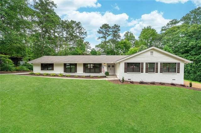 2925 Sope Creek Drive, Marietta, GA 30068 (MLS #6744131) :: Path & Post Real Estate