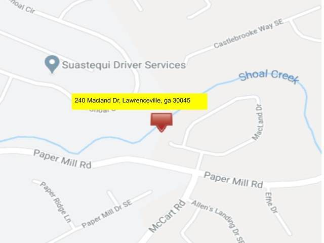 240 Macland Drive, Lawrenceville, GA 30045 (MLS #6744353) :: Todd Lemoine Team