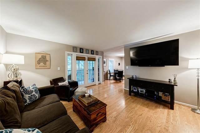 1445 Monroe Drive NE F22, Atlanta, GA 30324 (MLS #6744383) :: Kennesaw Life Real Estate
