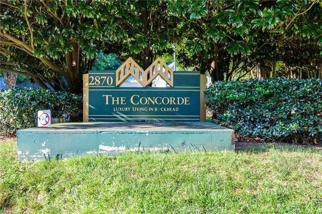 2870 Pharr Court South NW #1907, Atlanta, GA 30305 (MLS #6745220) :: Scott Fine Homes at Keller Williams First Atlanta