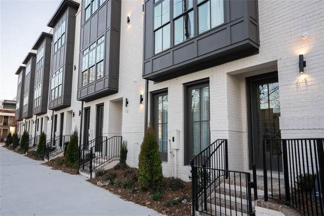 574 Boulevard Place NE #14, Atlanta, GA 30308 (MLS #6746064) :: The Hinsons - Mike Hinson & Harriet Hinson