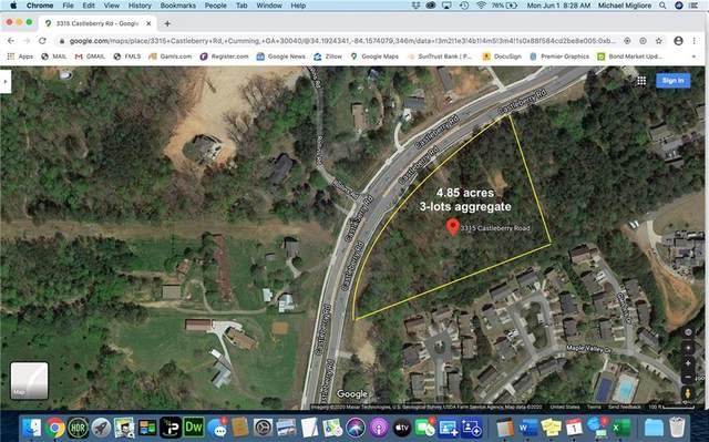 3315 Castleberry Road, Cumming, GA 30040 (MLS #6746251) :: Kennesaw Life Real Estate
