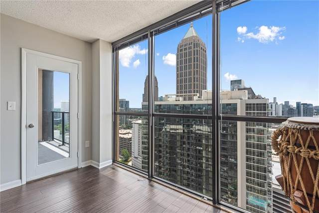 1280 W Peachtree Street NW #3407, Atlanta, GA 30309 (MLS #6746932) :: The Zac Team @ RE/MAX Metro Atlanta