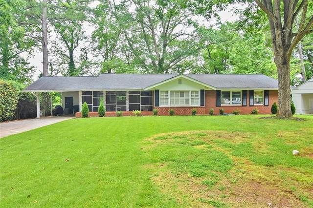 1912 Forest Green Drive NE, Atlanta, GA 30329 (MLS #6747999) :: Path & Post Real Estate