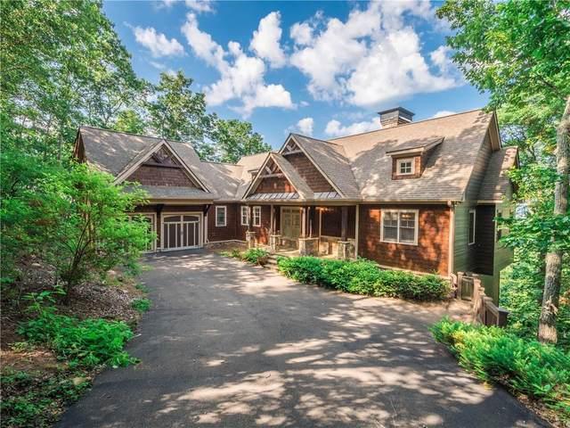 196 Cox Mountain Lane, Big Canoe, GA 30143 (MLS #6748251) :: Path & Post Real Estate
