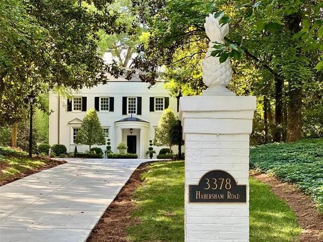 3378 Habersham Road NW, Atlanta, GA 30305 (MLS #6748559) :: The Hinsons - Mike Hinson & Harriet Hinson