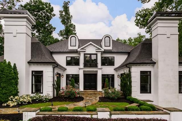 861 Carlton Ridge NE, Atlanta, GA 30342 (MLS #6748668) :: Charlie Ballard Real Estate