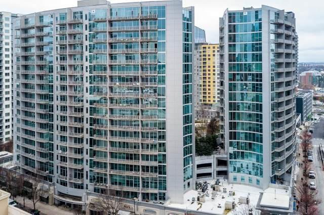 950 W Peachtree Street NW #705, Atlanta, GA 30309 (MLS #6749347) :: Tonda Booker Real Estate Sales