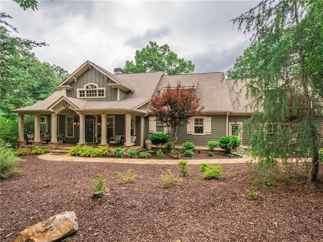 360 Bluestern Drive SE, Big Canoe, GA 30143 (MLS #6749748) :: Charlie Ballard Real Estate