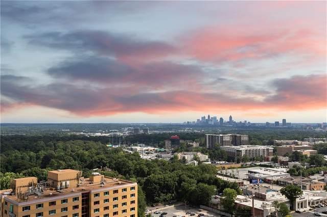 3324 Peachtree Road NE #2306, Atlanta, GA 30326 (MLS #6750086) :: Path & Post Real Estate