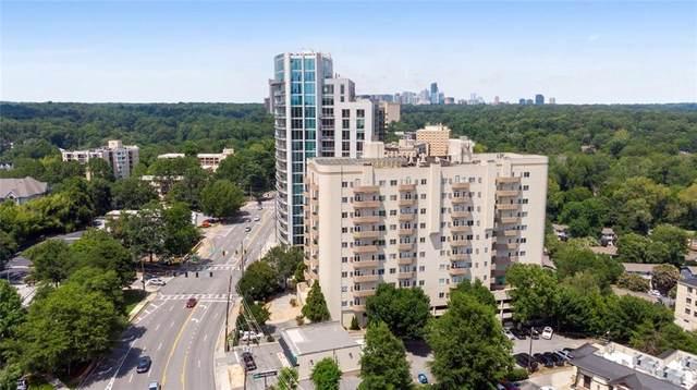 2161 Peachtree Road NE #506, Atlanta, GA 30309 (MLS #6751161) :: Kennesaw Life Real Estate