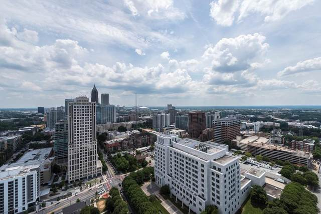 1065 Peachtree Street NE #3603, Atlanta, GA 30309 (MLS #6752967) :: Vicki Dyer Real Estate