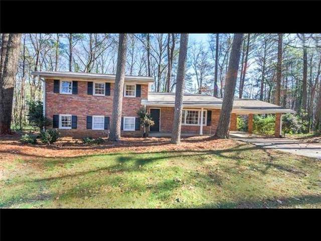 100 Woodlawn Drive NE, Marietta, GA 30067 (MLS #6753911) :: Todd Lemoine Team