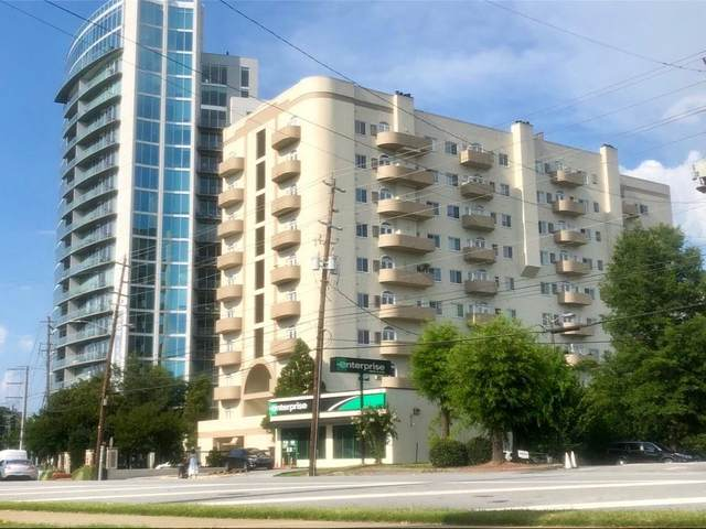 2161 Peachtree Road NE #108, Atlanta, GA 30309 (MLS #6754028) :: Keller Williams Realty Cityside