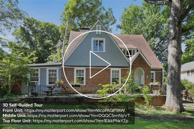1215 North Decatur Road NE, Atlanta, GA 30306 (MLS #6755740) :: AlpharettaZen Expert Home Advisors