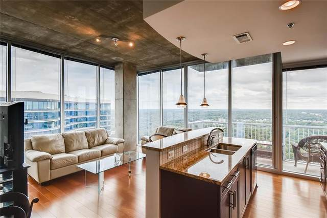 855 Peachtree Street NE #2814, Atlanta, GA 30308 (MLS #6757126) :: The Justin Landis Group