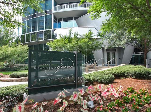 3338 Peachtree Road NE #603, Atlanta, GA 30326 (MLS #6758287) :: AlpharettaZen Expert Home Advisors
