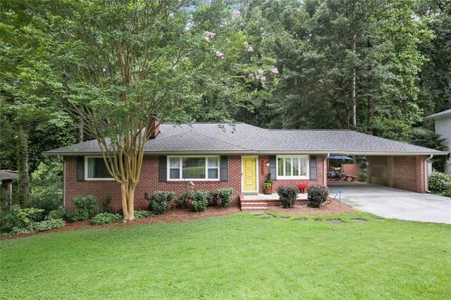 6036 Kayron Drive, Atlanta, GA 30328 (MLS #6758808) :: North Atlanta Home Team