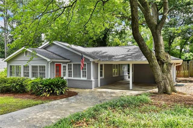 1961 Woodland Hills Avenue NW, Atlanta, GA 30318 (MLS #6759452) :: North Atlanta Home Team