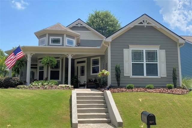 507 Lake Front Drive, Canton, GA 30115 (MLS #6759764) :: North Atlanta Home Team