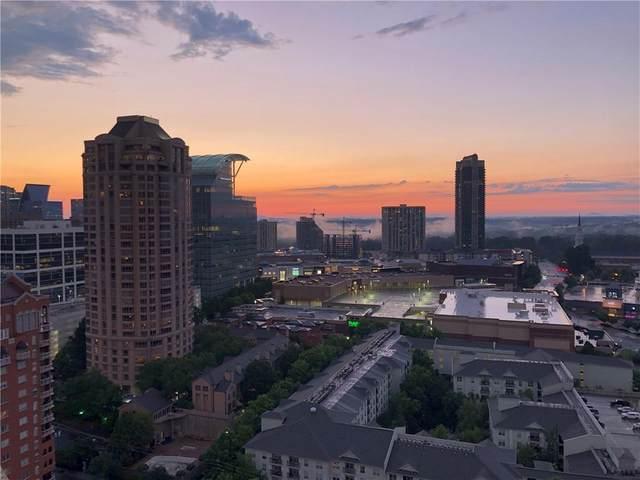 3481 Lakeside Drive NE #2708, Atlanta, GA 30326 (MLS #6761389) :: The Zac Team @ RE/MAX Metro Atlanta