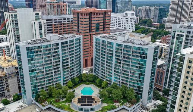 950 W Peachtree Street NW #1609, Atlanta, GA 30309 (MLS #6761450) :: Oliver & Associates Realty