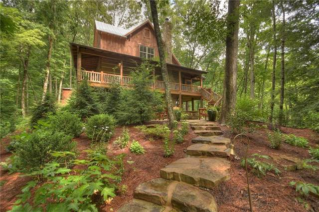 34 Chief Whitetails Road, Ellijay, GA 30540 (MLS #6762529) :: The Butler/Swayne Team