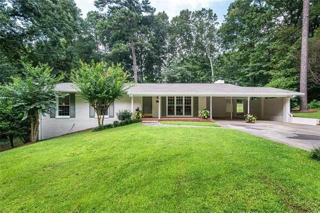 305 Amberidge Trail, Atlanta, GA 30328 (MLS #6763252) :: The Heyl Group at Keller Williams