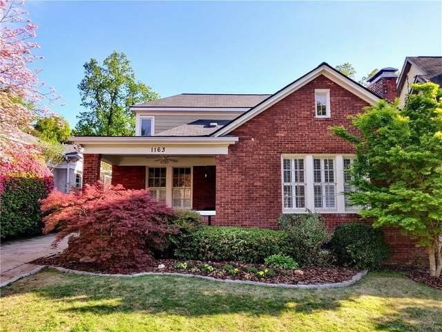 1163 Rosedale Drive NE, Atlanta, GA 30306 (MLS #6763483) :: The Hinsons - Mike Hinson & Harriet Hinson
