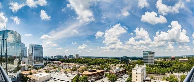 3338 Peachtree Road NE #2501, Atlanta, GA 30326 (MLS #6763637) :: Charlie Ballard Real Estate