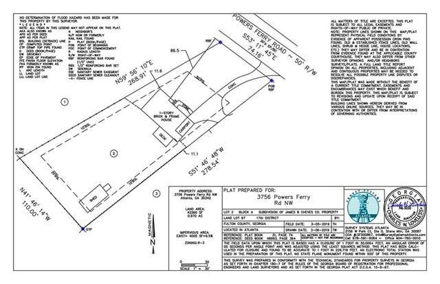 3756 Powers Ferry Road NW, Atlanta, GA 30342 (MLS #6763904) :: The Heyl Group at Keller Williams