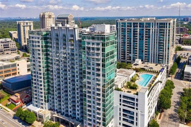 250 Pharr Road NE #203, Atlanta, GA 30305 (MLS #6763929) :: Charlie Ballard Real Estate