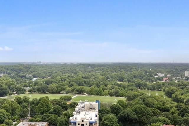 195 14th Street NE #2707, Atlanta, GA 30309 (MLS #6764663) :: Tonda Booker Real Estate Sales