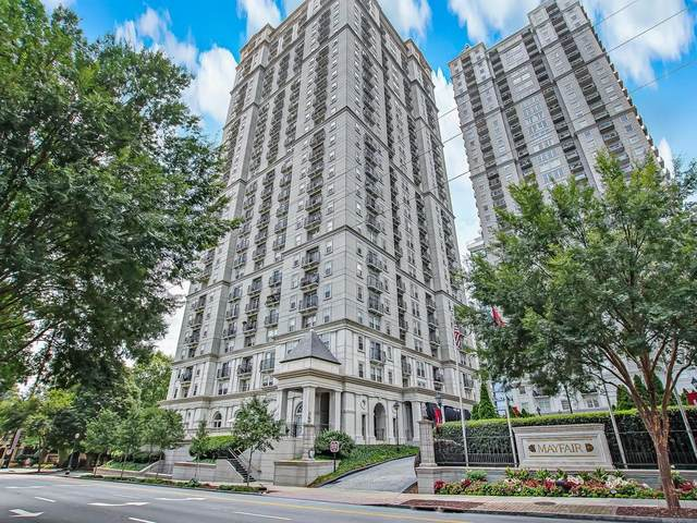 199 14th Street NE #2010, Atlanta, GA 30309 (MLS #6766152) :: Thomas Ramon Realty