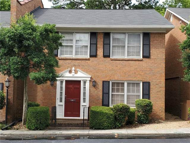 4620 Wieuca Road NE #31, Atlanta, GA 30342 (MLS #6767639) :: The Heyl Group at Keller Williams