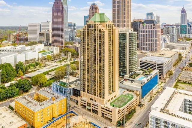 1280 W Peachtree Street NW #2508, Atlanta, GA 30309 (MLS #6768991) :: North Atlanta Home Team