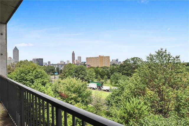 480 John Wesley Dobbs Avenue NE #617, Atlanta, GA 30312 (MLS #6771235) :: The Zac Team @ RE/MAX Metro Atlanta