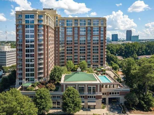 1820 Peachtree Street NW #612, Atlanta, GA 30309 (MLS #6773156) :: North Atlanta Home Team