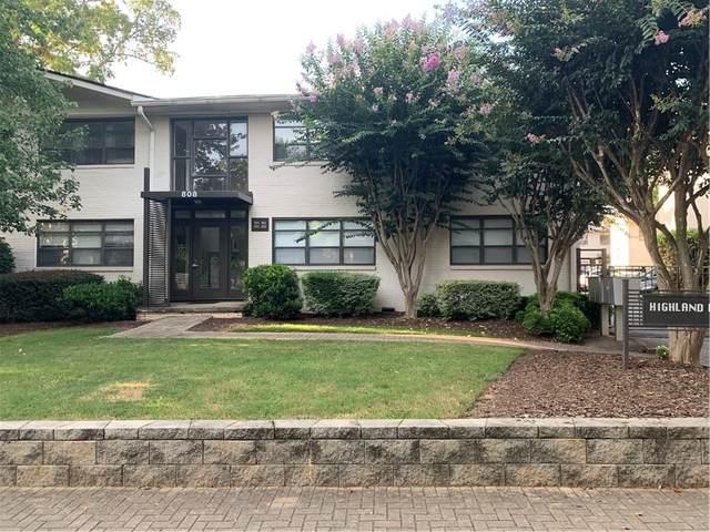 808 Greenwood Avenue NE #206, Atlanta, GA 30306 (MLS #6774921) :: Good Living Real Estate