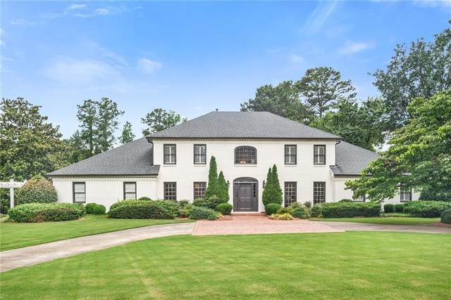 570 Willow Knoll Drive SE, Marietta, GA 30067 (MLS #6777005) :: Vicki Dyer Real Estate