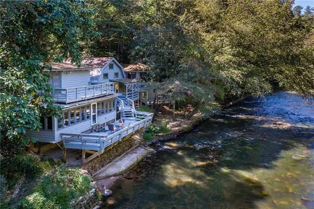 184 Grey Fox Trail, East Ellijay, GA 30536 (MLS #6778972) :: The Heyl Group at Keller Williams