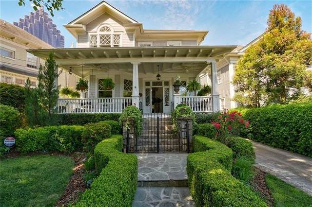 34 Peachtree Circle NE, Atlanta, GA 30309 (MLS #6779409) :: Dillard and Company Realty Group