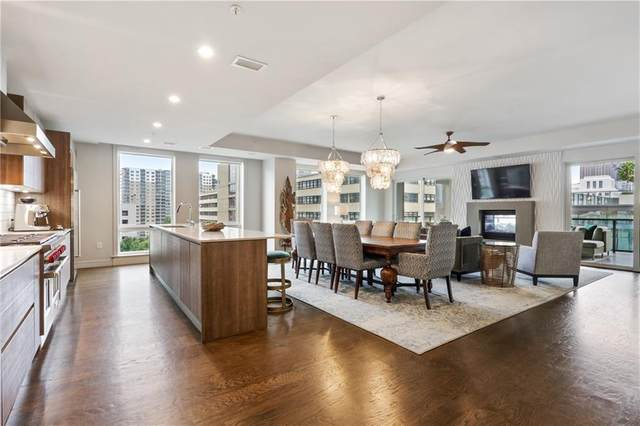 867 Peachtree Street #601, Atlanta, GA 30308 (MLS #6779977) :: Thomas Ramon Realty